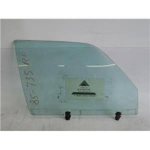 BMW E23 735i right front door window glass 51321879698