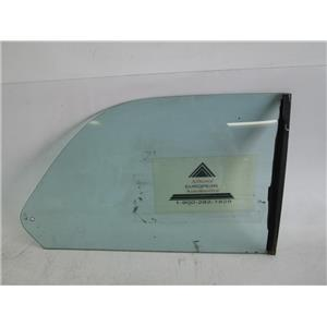 BMW E21 320i coupe right rear quarter window glass