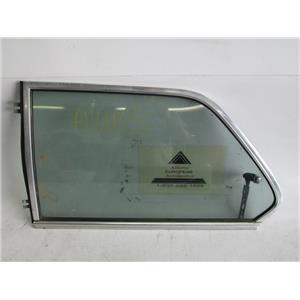 BMW E21 320i coupe left rear quarter window glass
