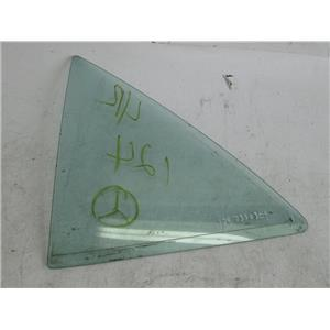 Mercedes W124 left rear quarter glass window 1247350309