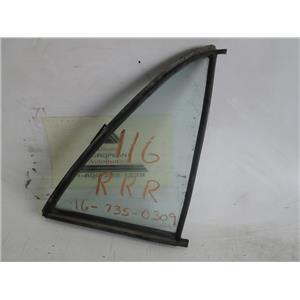 Mercedes W116 300 450 right rear quarter glass window 1167350309