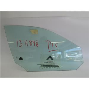 Jaguar S-Type right front door glass 03-08