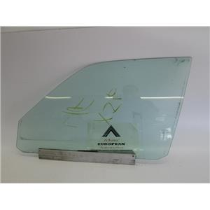 Jaguar XJ6 left front door glass 95-97 BCC5317