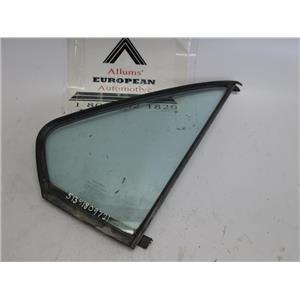 BMW E28 E12 right rear quarter glass window 51341809721