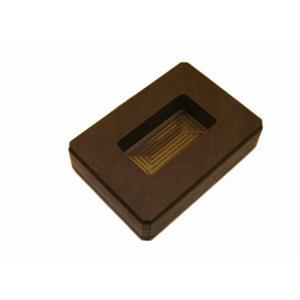 3 oz Gold 1.5 oz Silver Bar High Density Graphite Ingot Mold Loaf Copper