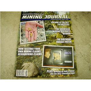 ICMJ's Prospecting & Mining Journal Magazine June 2017, GOLD!!! Chris Ralph