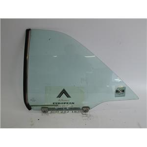 Mercedes W124 coupe 300CE left rear window glass