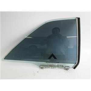 Mercedes W126 coupe 380SEC 560SEC right rear window glass