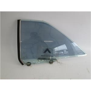 Mercedes W126 coupe 380SEC 560SEC left rear window glass