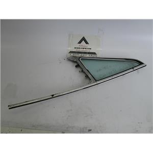 BMW 2002 2002tii E10 right front door vent window glass
