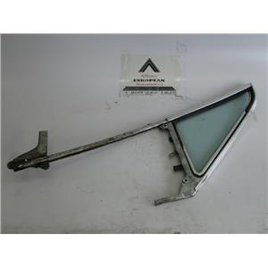 BMW 2002 2002tii E10 left front door vent window glass