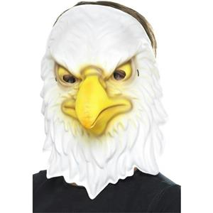 Smiffy's Eagle EVA Foam Costume Animal Mask One Size Fits Most