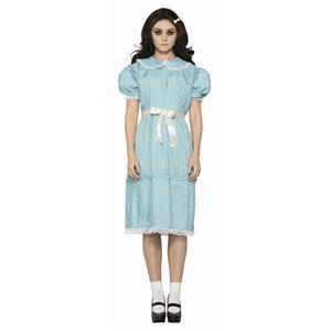 Creepy Sister Doll Dress Adult Dress Costume Standard
