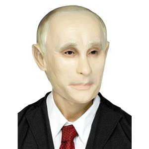 Putin Political Adult PVC Costume Mask
