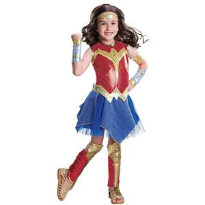 Wonder Woman Movie Child's Deluxe Costume Size Large 12-14