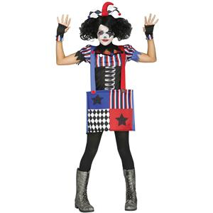 Jumpin Jack Joker Gothic Jack in the Box Child Costume Large 12-14