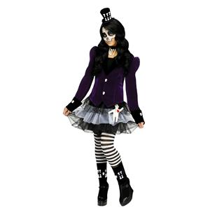 Fun World Girl's Voodoo Dolly Child Costume Large 12-14