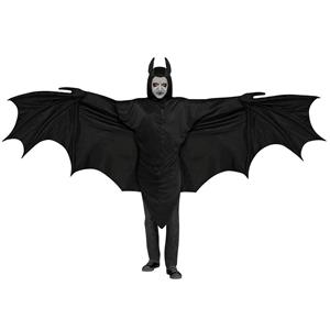 Wicked Wing Giant Bat Wings 8 foot Wing Span Lightweight Halloween Costume Tunic