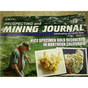 ICMJ's Prospecting & Mining Journal Magazine September 2017, GOLD!!! Cali GOLD!!