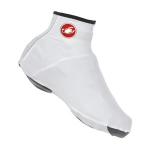 Castelli Lycra Shoe Cover - White - Small
