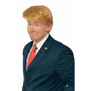 MR. BILLIONAIRE Donald Trump You're Fired Adult Costume Wig