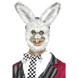 Zombie Furry Bunny Creepy Rabbit Adult Mask