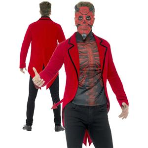 Smiffy's Men's Day of the Dead Devil Adult Costume Medium