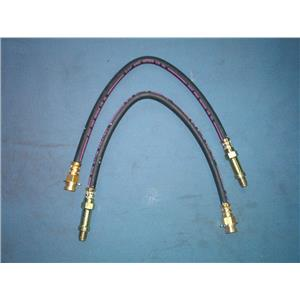 Chevy II brake hose set 1962-1966 FRONT 2 hoses Made in USA