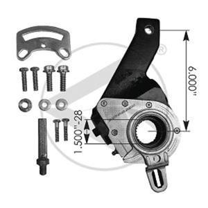 Haldex 40010305 type air brake slack adjuster replacement