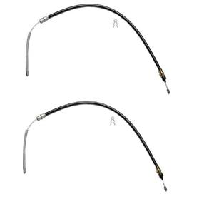 Brake cable Buick Oldsmobile REAR  1967-1979 2 Cables