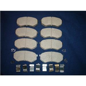 Mitsubishi Fuso FE Brake pads with hardware  Models FE640 FE649 1995-2004