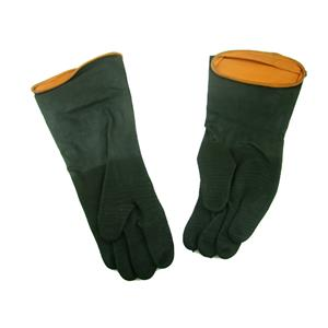 """14"""" Gold Panning Rubber Gloves - 1 pair - w/Textured Grip - Cold River Clean ups"""