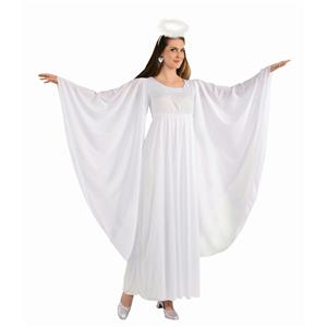 Angel White Adult Dress and Halo Standard Size Costume