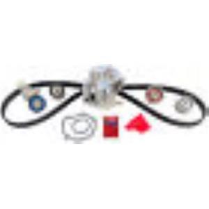 Engine Timing Belt Kit with Water Pump Gates TCKWP307