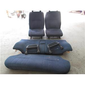 Volvo 240 blue cloth seats 86-93 sedan