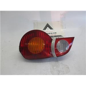 BMW E85 Z4 right side tail light 63217165723 03-05