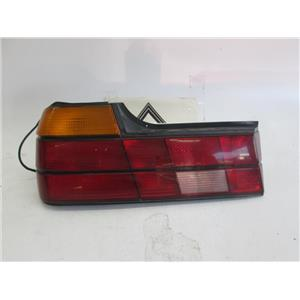 87-94 BMW E32 740il 735i 750il left tail light 63211379497