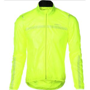 Craft Men's Featherlight Jacket Highlighter Large