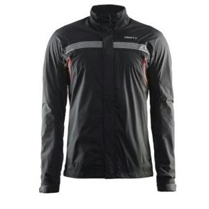 Craft Men's Escape Rain Jacket Black Medium