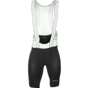 Craft Men's Tech Bib Shorts Black/White Extra Large