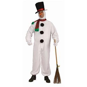 Plush Snowman Adult Costume