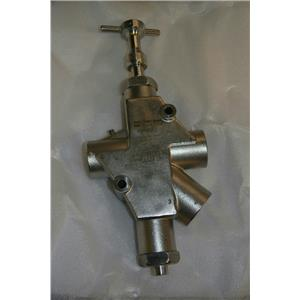 """Parker LV8N8BSS 1"""" Lockout Valve, Stainless Steel, 1"""" Inlet & Outlet"""