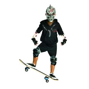 Facepaint Child Skateboarding Costume Small 4-6