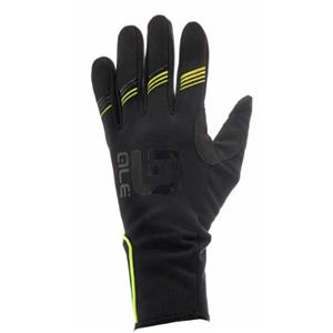 Ale Nordik Glove Black/Lime Small
