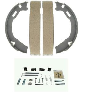 Parking Brake Shoe with hardware Buick Enclave GMC Acadia Chevy Traverse