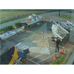 Jib w Luff 48-4 from Boaters' Resale Shop of TX 1710 1271.97