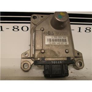 Mercedes turn rate YAW sensor 0265005200 0005426519