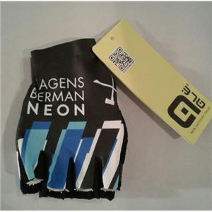 Ale Team Axeon–Hagens Berman Neon Cycling Gloves - Small - NWT