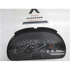 BMW E39 525i 528i 530i speedometer instrument cluster 62118372356 #091