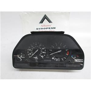 BMW E34 525i speedometer instrument cluster 62118361015 #33